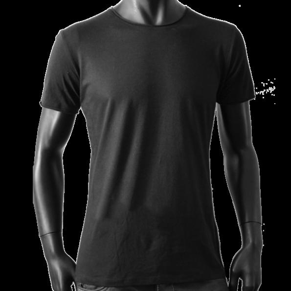 T-Shirt Noir N 15 – Homme