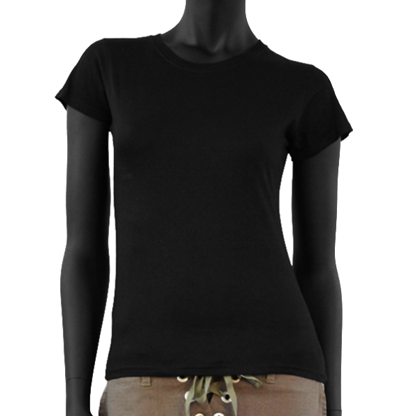 T-Shirt Noir Sweety – Femme